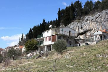 Property Podašpilje (Omiš) - Accommodation 7578 - Vacation Rentals with sandy beach.