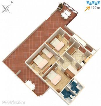 Apartment A-7584-a - Apartments Slatine (Čiovo) - 7584
