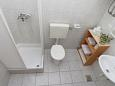 Bathroom - Studio flat AS-7599-a - Apartments Zaostrog (Makarska) - 7599