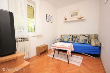 Lovran, Living room u smještaju tipa apartment, WIFI.