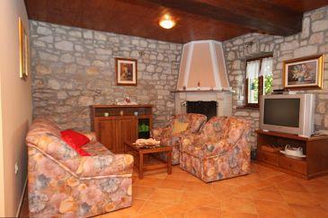 House K-7686 - Vacation Rentals Kršan - Vlašići (Središnja Istra) - 7686