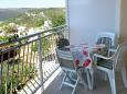Terrace - Apartment A-7687-b - Apartments Trget (Raša) - 7687