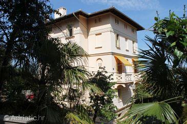 Property Lovran (Opatija) - Accommodation 7708 - Apartments near sea with pebble beach.