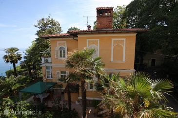 Property Lovran (Opatija) - Accommodation 7709 - Rooms near sea with pebble beach.