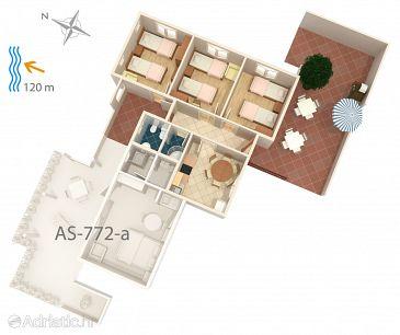 Apartment A-772-a - Apartments Maslinica (Šolta) - 772