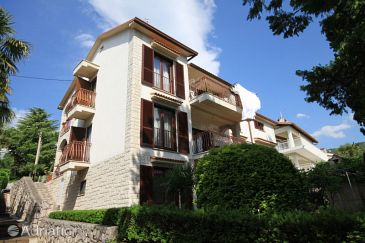 Property Ičići (Opatija) - Accommodation 7745 - Apartments near sea with pebble beach.