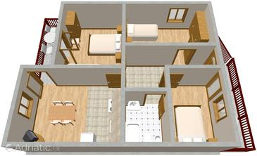 Apartment A-775-a - Apartments Maslinica (Šolta) - 775