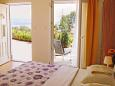 Bedroom - Studio flat AS-7756-b - Apartments Oprić (Opatija) - 7756