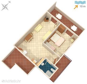 Apartment A-780-d - Apartments Stomorska (Šolta) - 780