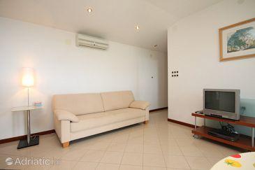 Opatija, Living room u smještaju tipa apartment, dostupna klima, dopusteni kucni ljubimci i WIFI.