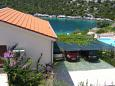 Uvala Ljubljeva, Trogir, Parking lot 7815 - Apartments blizu mora with pebble beach.