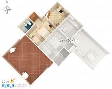 Apartment A-783-a - Apartments Stomorska (Šolta) - 783