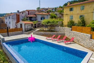 Property Obrš (Opatija) - Accommodation 7835 - Vacation Rentals with pebble beach.