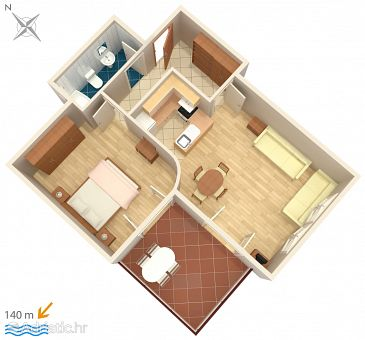 Apartment A-792-b - Apartments Betina (Murter) - 792