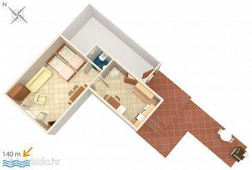 Studio flat AS-792-a - Apartments Betina (Murter) - 792