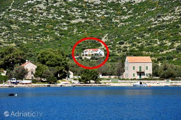 Property Skrivena Luka (Lastovo) - Accommodation 7971 - Apartments with pebble beach.