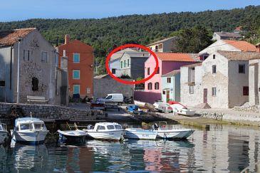 Obiekt Veli Lošinj (Lošinj) - Zakwaterowanie 8031 - Apartamenty blisko morza ze żwirową plażą.