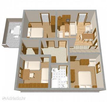 Apartment A-812-a - Apartments Tisno (Murter) - 812