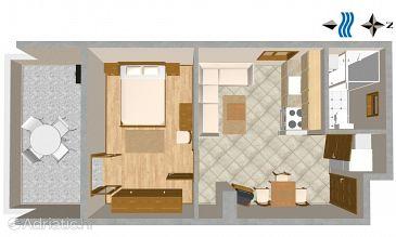 Apartment A-814-b - Apartments Tisno (Murter) - 814