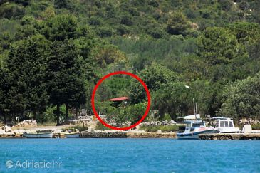Property Telašćica - Uvala Magrovica (Dugi otok) - Accommodation 8142 - Vacation Rentals near sea with rocky beach.