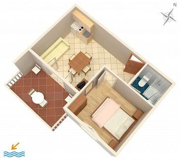 Apartment A-8144-c - Apartments and Rooms Zaglav (Dugi otok) - 8144