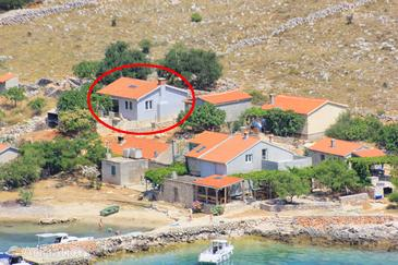Property Uvala Statival (Kornati) - Accommodation 8165 - Vacation Rentals near sea with sandy beach.