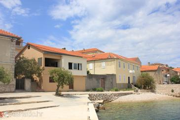 Property Sali (Dugi otok) - Accommodation 8194 - Apartments near sea with pebble beach.
