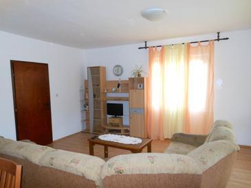 Zaglav, Living room u smještaju tipa apartment, dopusteni kucni ljubimci i WIFI.