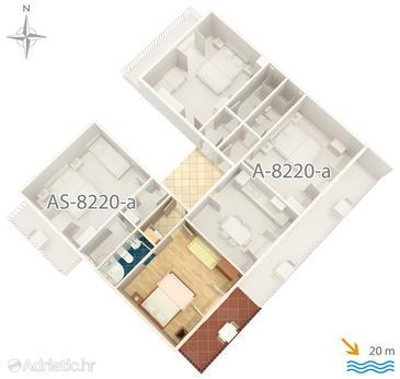 Studio flat AS-8220-b - Apartments Pašman (Pašman) - 8220