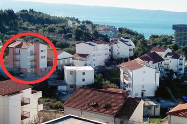 Property Podstrana (Split) - Accommodation 8281 - Apartments with pebble beach.