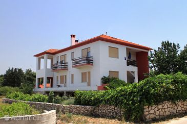 Property Ugljan (Ugljan) - Accommodation 830 - Apartments near sea with pebble beach.