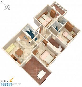 Apartment A-8335-a - Apartments Žrnovska Banja (Korčula) - 8335