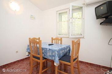 Pasadur, Dining room u smještaju tipa apartment, dostupna klima, dopusteni kucni ljubimci i WIFI.