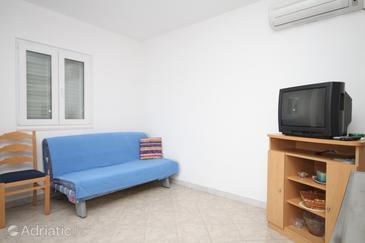 Ubli, Living room u smještaju tipa apartment, dostupna klima i WIFI.