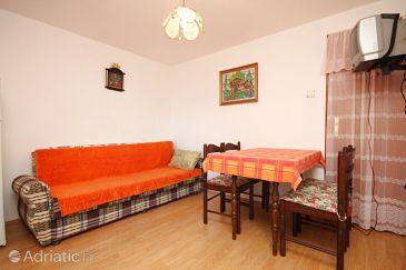 Ždrelac, Dining room u smještaju tipa apartment, dostupna klima.