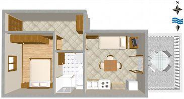 Apartament A-846-c - Apartamenty Ugljan (Ugljan) - 846