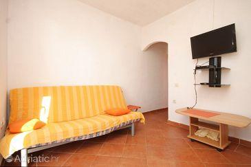 Rukavac, Living room u smještaju tipa apartment, dostupna klima, dopusteni kucni ljubimci i WIFI.