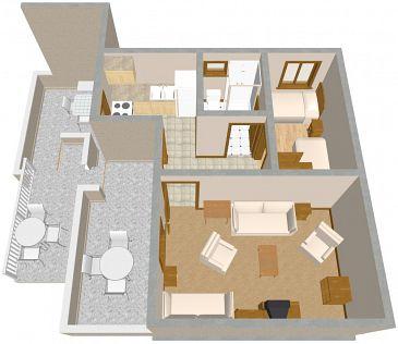 Apartament A-849-a - Apartamenty Sveti Petar (Biograd) - 849