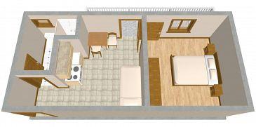 Apartment A-851-c - Apartments Drage (Biograd) - 851