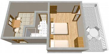 Apartment A-851-f - Apartments Drage (Biograd) - 851