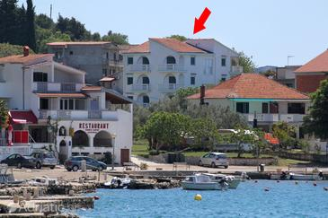 Drage, Biograd, Property 854 - Apartments blizu mora with pebble beach.