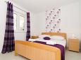 Mlini, Bedroom 2 u smještaju tipa apartment, dostupna klima i WIFI.