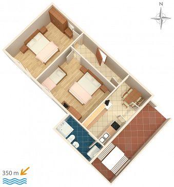Apartment A-859-d - Apartments Biograd na Moru (Biograd) - 859