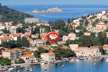 Property Dubrovnik (Dubrovnik) - Accommodation 8593 - Apartments with pebble beach.