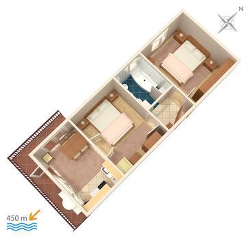 Apartment A-860-a - Apartments Biograd na Moru (Biograd) - 860