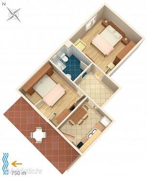 Apartment A-8611-a - Apartments Cavtat (Dubrovnik) - 8611