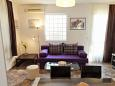 Okrug Gornji, Living room u smještaju tipa apartment, dostupna klima, dopusteni kucni ljubimci i WIFI.