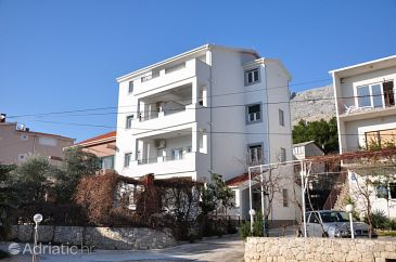 Property Duće (Omiš) - Accommodation 8633 - Apartments near sea with sandy beach.