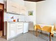 Podstrana, Kitchen u smještaju tipa studio-apartment, dopusteni kucni ljubimci.