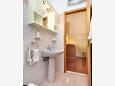 Bathroom - Studio flat AS-8639-d - Apartments and Rooms Podstrana (Split) - 8639